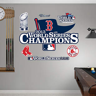 Boston Red Sox - 2013 World Series Champions Logo